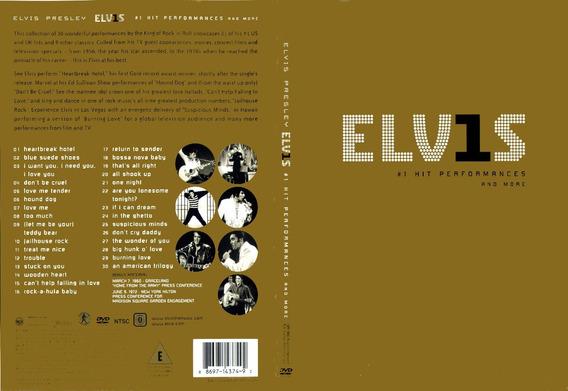 Presley Elvis - Elvis 1 Hits Performances And More Dvd S