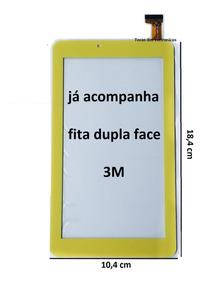 Touch Screen Tablet Dl Play Kids Tx328bra Tx 328 Amarelo