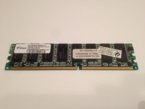 Memoria 256mb Ddr 333 Mhz Pc2700 2.5v.