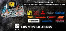 Refacciones Montacargas Toyota Hyster Caterpillar Genie Jlg