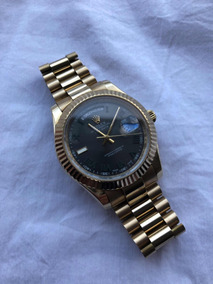 Reloj Rolex Presidente Day-date Dorado Con Dial Wimbledon