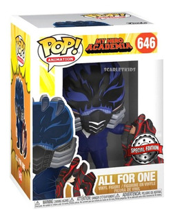 Funko Pop My Hero Academia All For One 646 Special Edition
