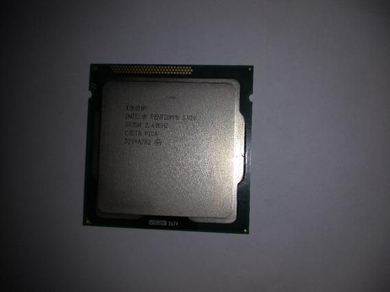 Processador Intel Pentium G620 2.60ghz 3mb Lga1155 Seminovo