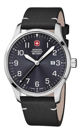 Relogio Masc Wenger Swiss Military Avenue Field Watch Novo