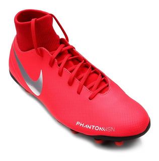 Chuteira Campo Nike Botinha Phantom Vsn Adulta - Original