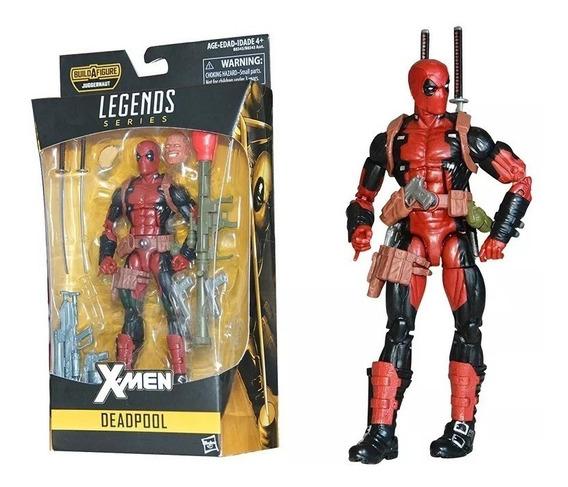 Boneco Action Figure Deadpool - Marvel Legends - X-men