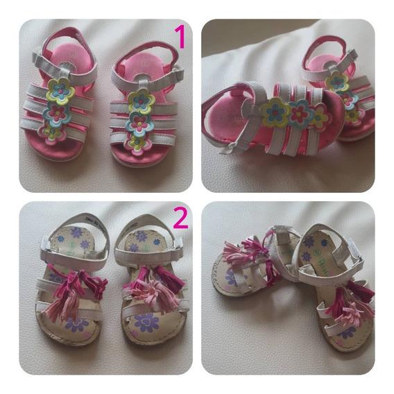 Zapatos, Sandalias, Botas De Bebe Niña Tallas Varias