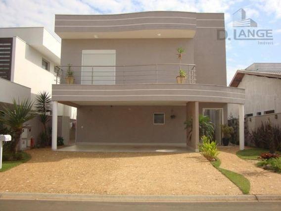 Casa Com 3 Dormitórios À Venda, 322 M² Por R$ 1.250.000 - Condomínio Athenas - Paulínia/sp - Ca9745