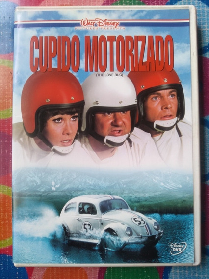 Dvd Cupido Motorizado The Love Bug