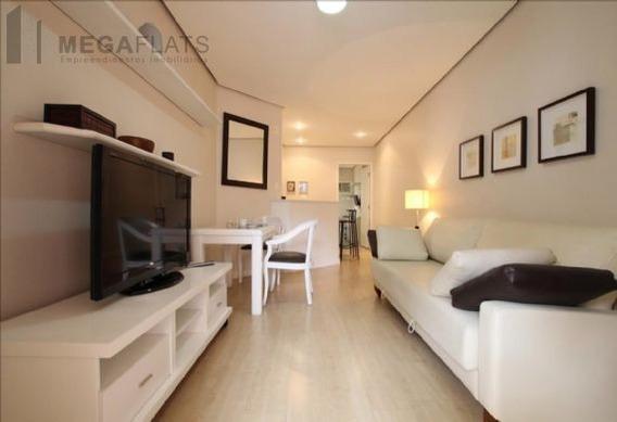 03476 - Flat 1 Dorm, Itaim Bibi - São Paulo/sp - 3476