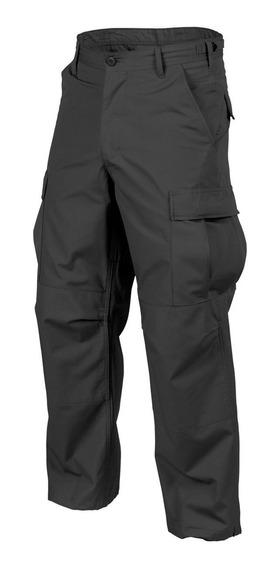 Pantalon Cargo Tactico Federal Negro Ripstop
