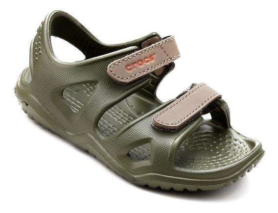 Sandália/papete Infantil Crocs Velcro Swiftwater River