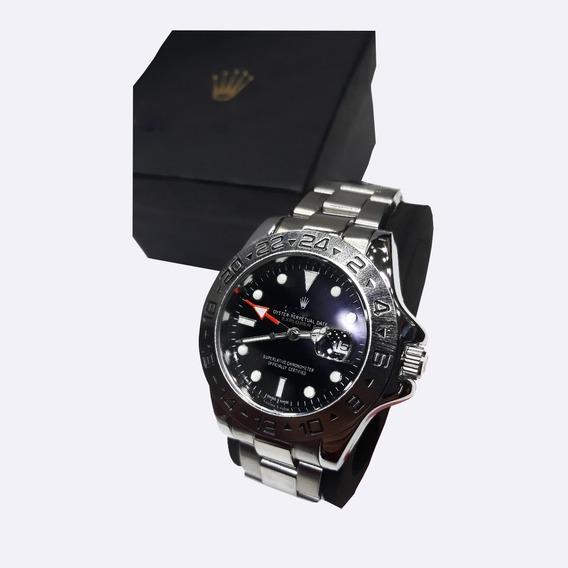Relógio De Pulso Masculino De Luxo Coroa Role Promoção