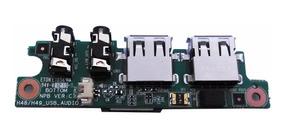 Placa Usb Audio Notebook Cce Iron Onix Mod: H48 / H49 Npb