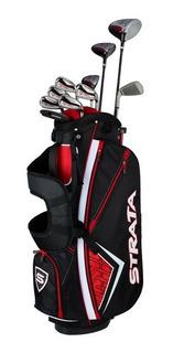 Kaddygolf Set Palos Golf Callaway Strata Plus Hombre