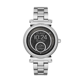 Relógio Smartwatch Michael Kors Access Sofie Mkt5020 Prata
