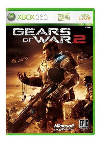 Gears Of War 2 - Xbox 360 - Usado - Original