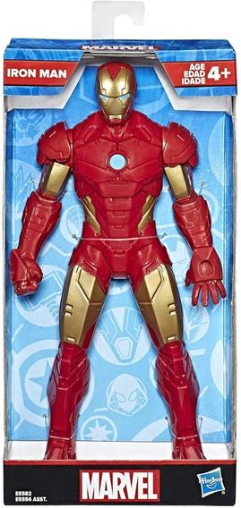 Boneco Homem De Ferro Vingadores Marvel 25cm - Hasbro E5556