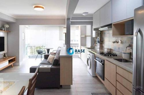 Apartamento Com 2 Dormitórios À Venda, 63 M² Por R$ 850.000 - Campo Belo - São Paulo/sp - Ap11599