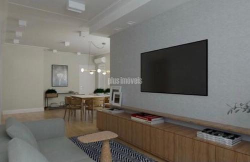 Imagem 1 de 7 de Apartamento Para Venda No Bairro Moema Em São Paulo - Cod: Pj54884 - Pj54884
