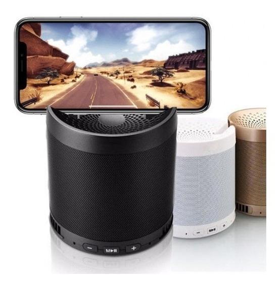 Caixa Som Q5 Bluetooth Sem Fio Portátil C/ Porta Celular Pro