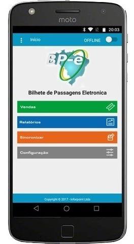Aplicativo Bp-e Bilhete De Passagem Eletronica