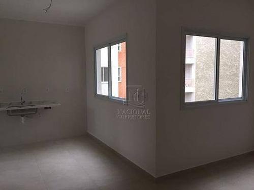 Imagem 1 de 21 de Apartamento Com 1 Dormitório À Venda, 39 M² Por R$ 225.000,00 - Bangu - Santo André/sp - Ap5367