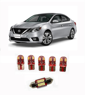 Hiperled Sentra 2018 Full Led Interior + Portaplacas Kit