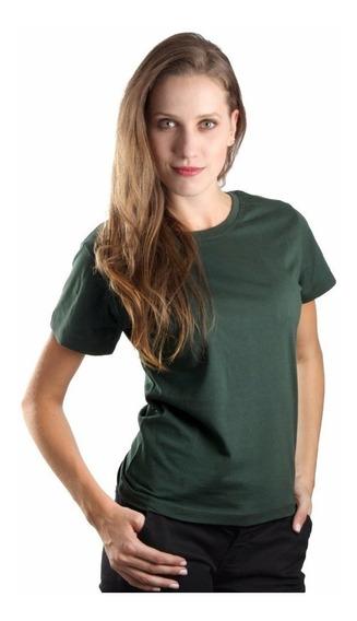 Kit 4 Camisetas De Elastano Baby Look Feminina Blusinha
