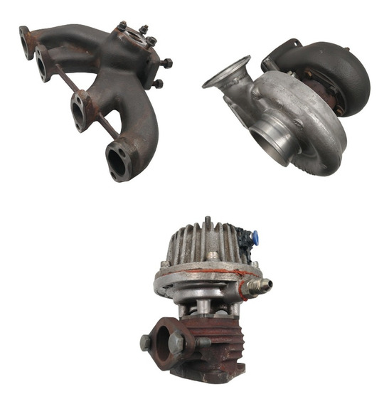 Kit Turbo Ap Pulsativo Coletor / Turbina Hx / Valvula Mack
