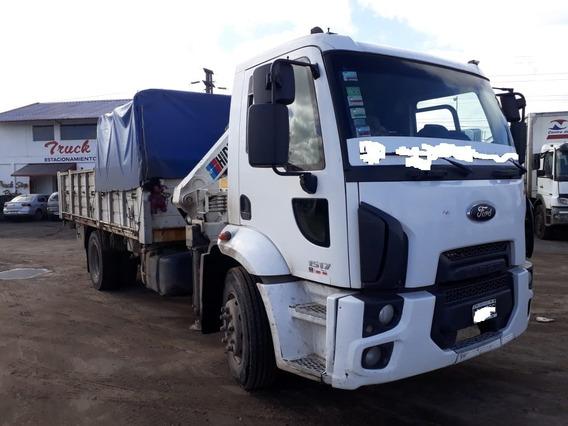 Camion Con Hidrogrua Y Malacate