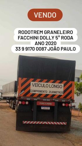 Imagem 1 de 1 de Rodotrem Graneleiro Dolly Quinta Roda S/pneus 240 Milou Co