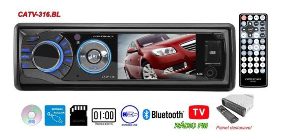 Dvd Player Powerpack Catv-316 - Bluetooth - Usb