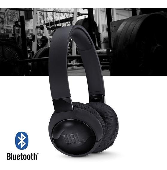 Fone De Ouvido Headphone Jbl Tune T600 Nc Bt Bluetooth Preto