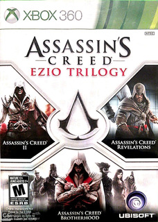 Assassins Creed Ezio Trilogy - Xbox 360
