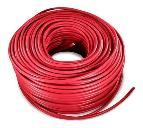 Imagen 1 de 1 de Cable Eléctrico Cca Calibre 8 Alucobre 100m Unipolar Rojo