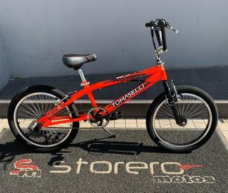 Bicicleta Tomaselli Bmx Xt5 Rodado 20 Todos Los Colores