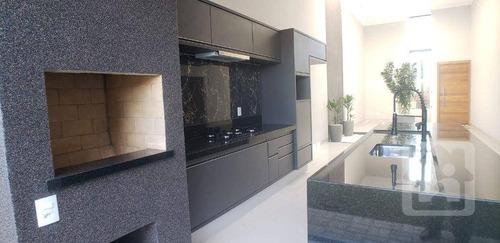 Casa Com 3 Dormitórios À Venda, 155 M² Por R$ 600.000,00 - Condomínio Costa Home - Araçatuba/sp - Ca1112