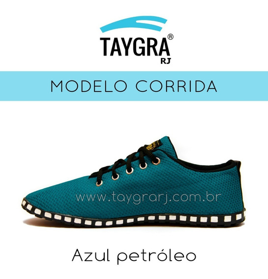 Taygra Tenis Modelo Comfort Azul Petroleo