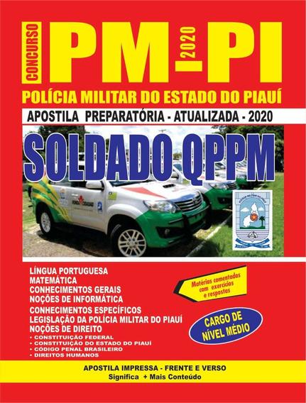 Apostila Pm-pi - Soldado Preparatória 2020