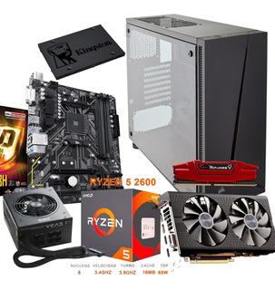 Computadora Gamer Amd Ryzen 2600 Y Rx 590
