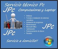 Servicio Técnico Computadora Pc,laptop,formateo A Domicilio