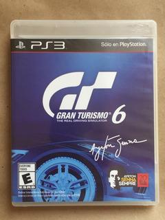 Gran Turismo 6 Ps3. Envíos Todo Chile