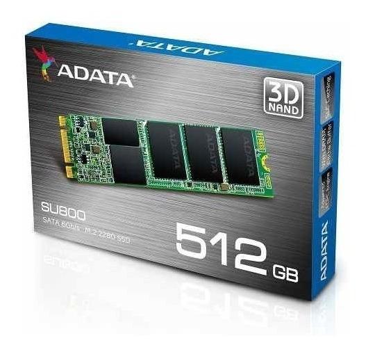 Disco Solido Adata Ssd M.2 Su800 2280 512gb
