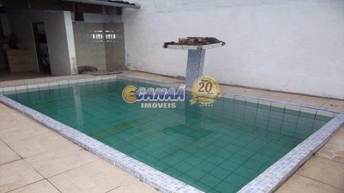 Casa Com 3 Dorms, Balneário Jussara, Mongaguá - R$ 250 Mil, Cod: 6145 - V6145