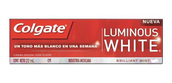Pasta Dental Colgate Luminous White 22 Ml