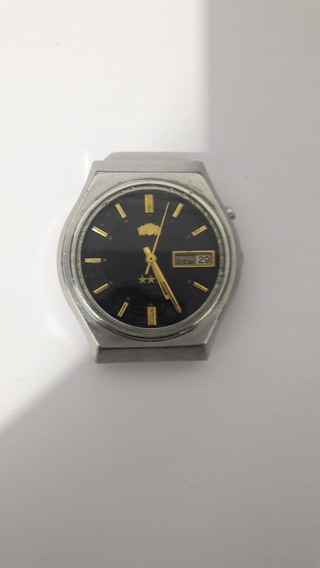 Relógio Orient Vidro Crystal 3 Estrelas Automático 21 Rubis