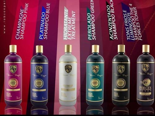 Lanzaminto Shampoo Matizador Robson Peluquero