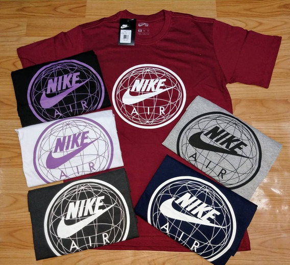 Kit Com 4 Camisas De Surf - Nike - Original