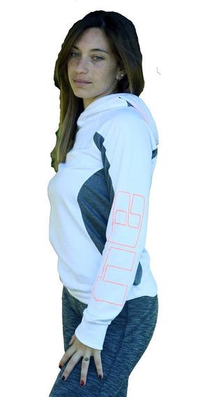 Hoodie -buzo- Mujer -gym-deportivo-running-sport Art 6112